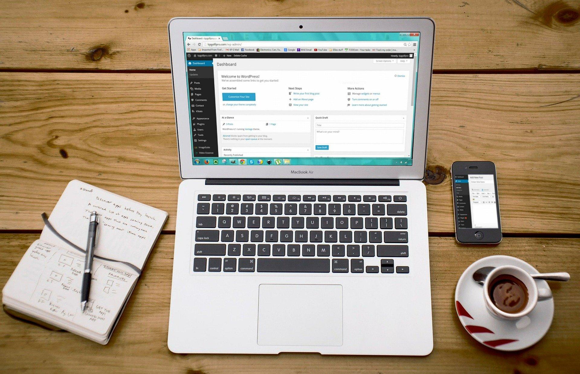 Webové stránky podnikání