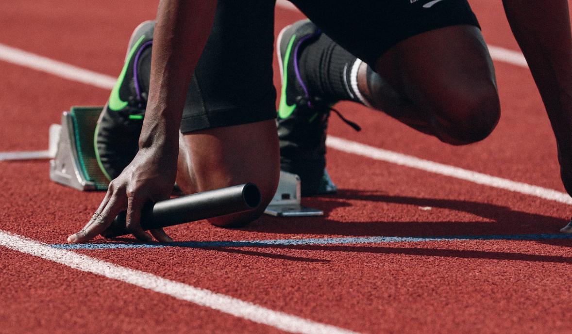 atlet na trati