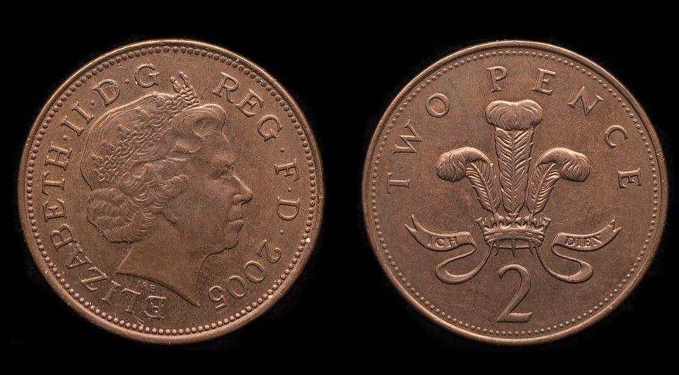 dvě pence