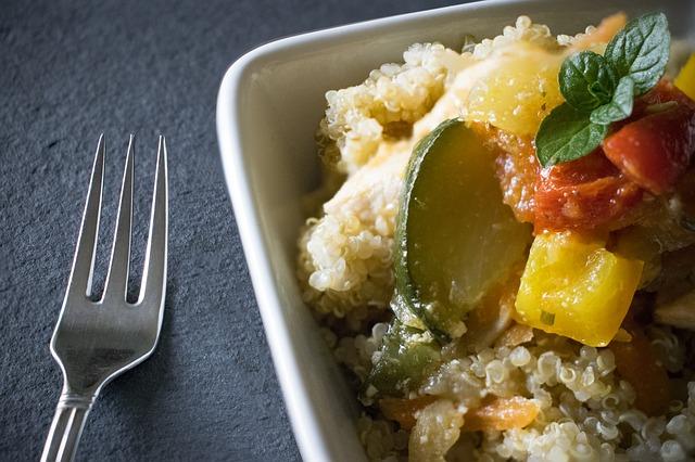 Pokrm s Quinoou